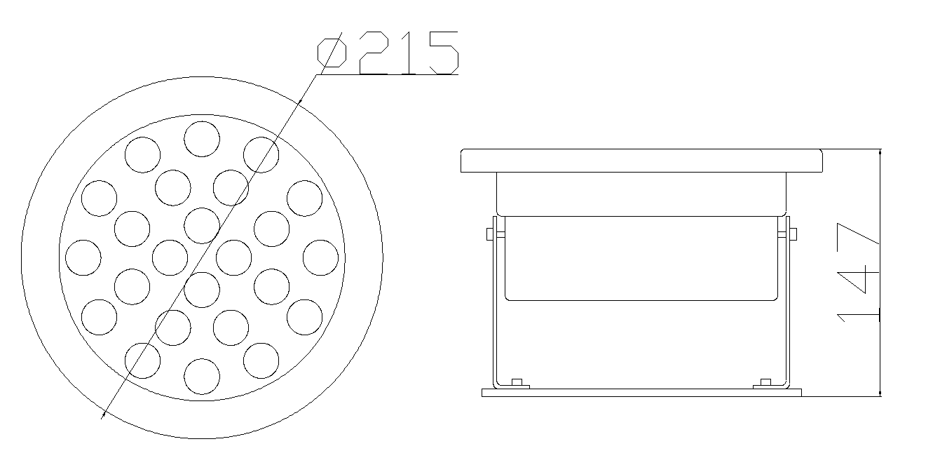 LED水底灯 SDD-16502结构图