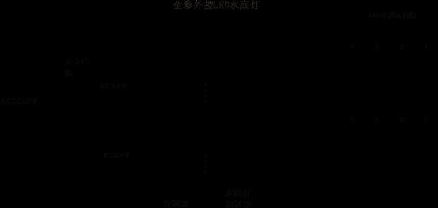 LED水底灯 SDD-16506系统图